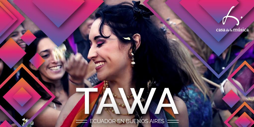 tawa, música ecuatoriana y argentina