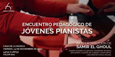 jovenes pianistas